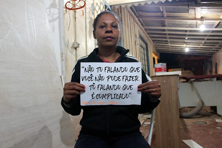 Somente a Bia Bassan conseguiu realizar a laqueadura (Fotos: Maria Esther Castedo/JORNALDOIS)