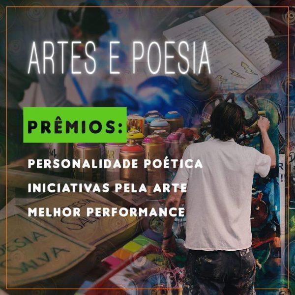 Na categoria de Artes e Poesia, recebemos 12 indicações (Arte: Bruna Nakandakare/Jornal Dois)